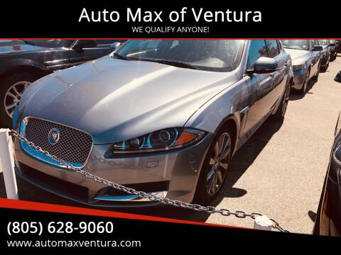 2014 Jaguar XF for sale at Auto Max of Ventura in Ventura CA