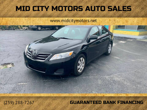 2011 Toyota Camry for sale at Mid City Motors Auto Sales in Fort Myers FL