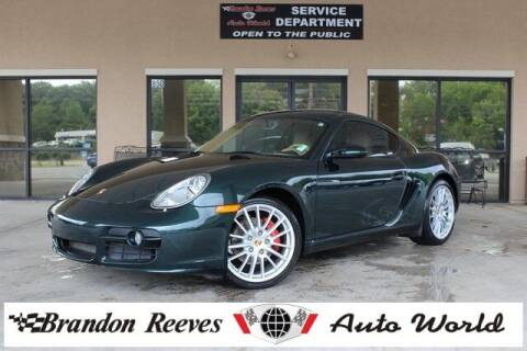 2007 Porsche Cayman for sale at Brandon Reeves Auto World in Monroe NC