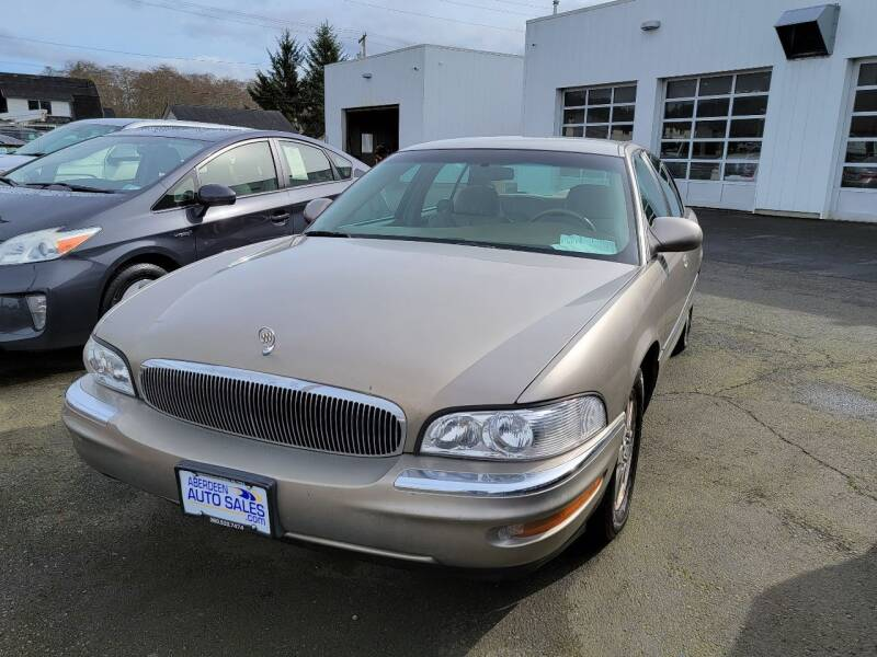 2004 Buick Park Avenue for sale at Aberdeen Auto Sales in Aberdeen WA