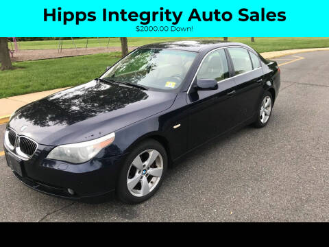 2006 BMW 5 Series for sale at Hipps Integrity Auto Sales in Delran NJ