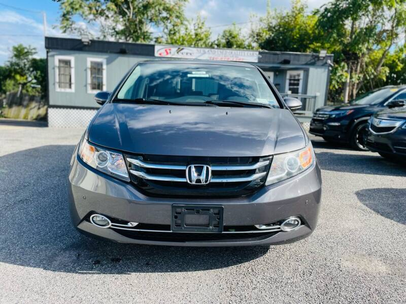 2014 Honda Odyssey for sale at Sincere Motors LLC in Baltimore MD