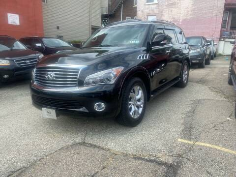 2013 Infiniti QX56 for sale at MG Auto Sales in Pittsburgh PA