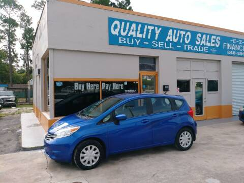 2015 Nissan Versa Note for sale at QUALITY AUTO SALES OF FLORIDA in New Port Richey FL