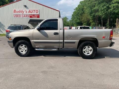 2002 Chevrolet Silverado 1500 for sale at Buddy's Auto Inc in Pendleton SC