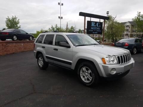 2005 Jeep Grand Cherokee for sale at R C Motors in Lunenburg MA