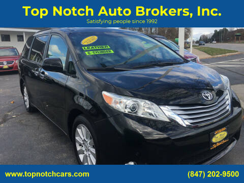 2011 Toyota Sienna for sale at Top Notch Auto Brokers, Inc. in Palatine IL