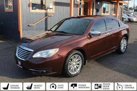 2012 Chrysler 200 for sale at Sabeti Motors in Tacoma WA