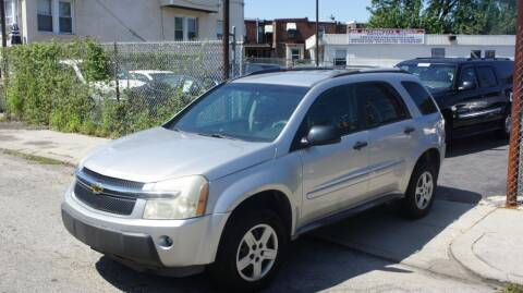 2005 Chevrolet Equinox for sale at GM Automotive Group in Philadelphia PA