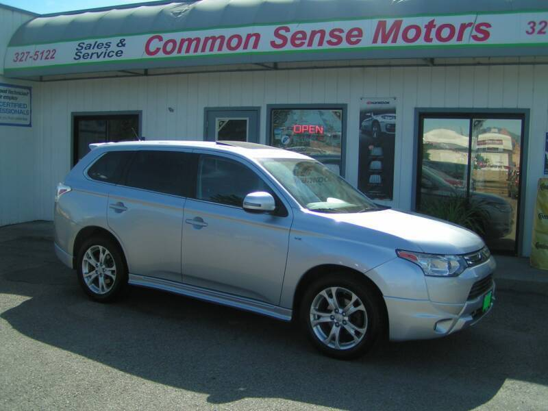 2014 Mitsubishi Outlander for sale at Common Sense Motors in Spokane WA