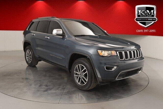 2020 Jeep Grand Cherokee for sale at K&M Wayland Chrysler  Dodge Jeep Ram in Wayland MI