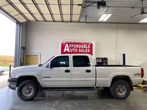 2005 Chevrolet Silverado 2500HD for sale at Affordable Auto Sales in Humphrey NE