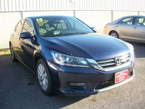 2015 Honda Accord for sale at Lloyds Auto Sales & SVC in Sanford ME