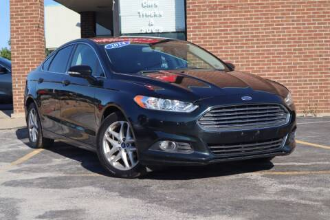 2014 Ford Fusion for sale at Hobart Auto Sales in Hobart IN