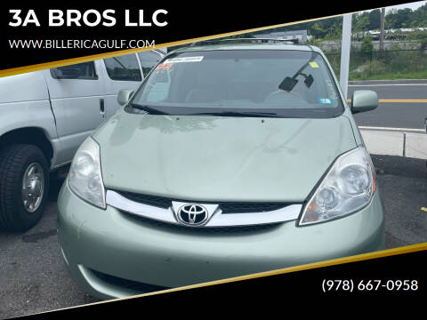 2008 Toyota Sienna for sale at 3A BROS LLC in Billerica MA