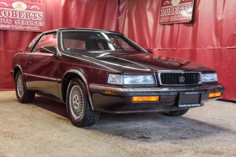 1989 Chrysler TC for sale at Roberts Auto Services in Latham NY