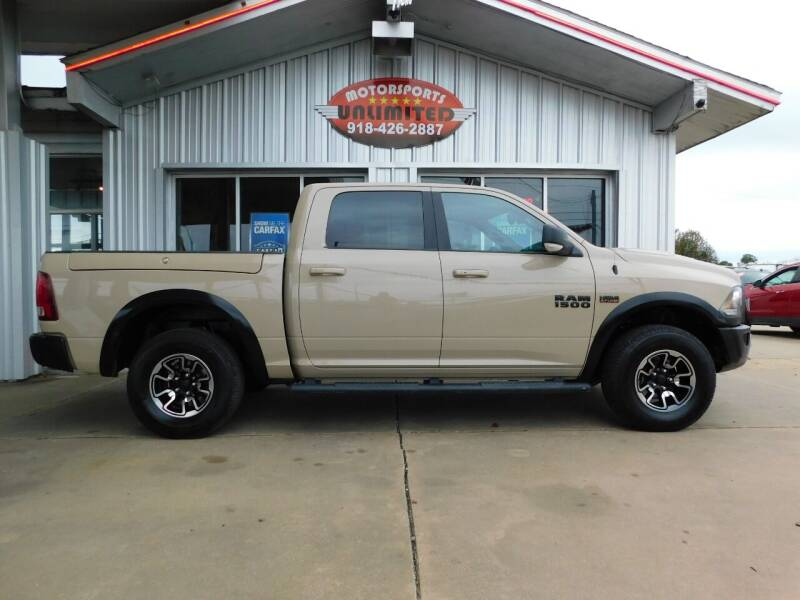 2017 RAM Ram Pickup 1500 for sale at Motorsports Unlimited in McAlester OK