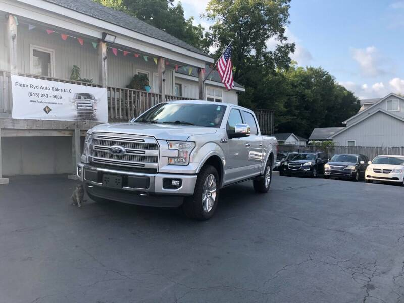 2016 Ford F-150 for sale at Flash Ryd Auto Sales in Kansas City KS