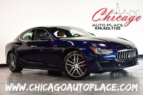 2018 Maserati Ghibli for sale at Chicago Auto Place in Bensenville IL