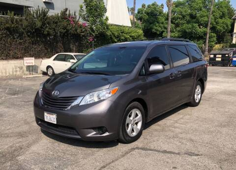 2015 Toyota Sienna for sale at Eden Motor Group in Los Angeles CA