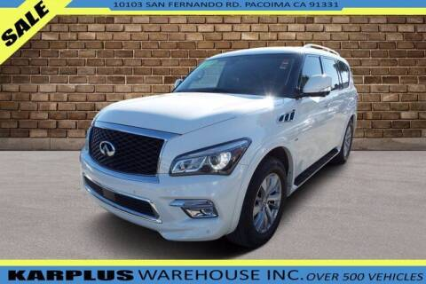 2017 Infiniti QX80 for sale at Karplus Warehouse in Pacoima CA