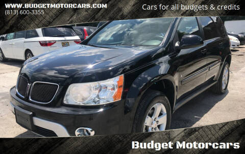 2007 Pontiac Torrent for sale at Budget Motorcars in Tampa FL