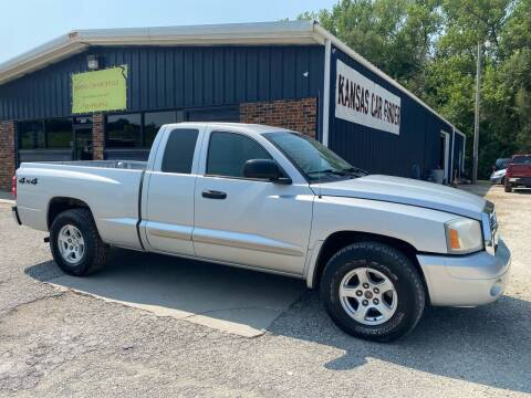 2005 Dodge Dakota for sale at Kansas Car Finder in Valley Falls KS