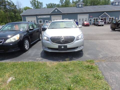 2014 Buick LaCrosse for sale at Pool Auto Sales Inc in Spencerport NY