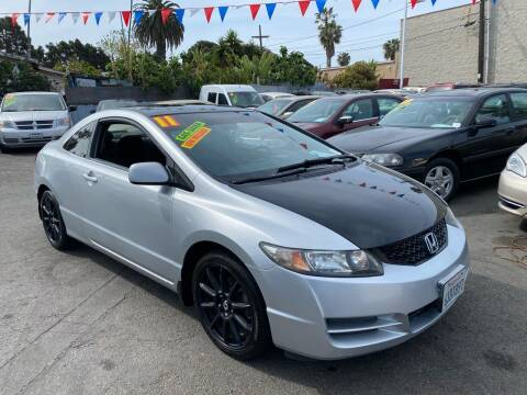 2011 Honda Civic for sale at North County Auto in Oceanside CA