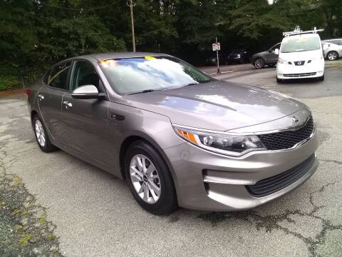 2017 Kia Optima for sale at Import Plus Auto Sales in Norcross GA