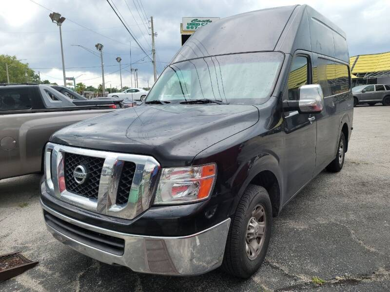2012 Nissan NV Cargo for sale at Castle Used Cars in Jacksonville FL