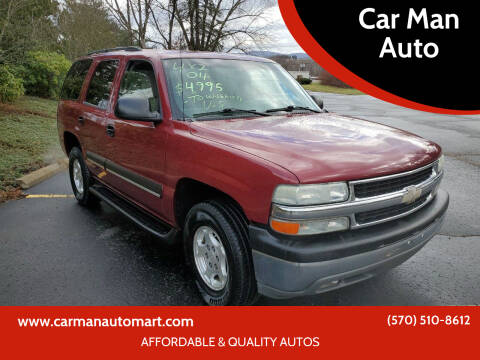 2004 Chevrolet Tahoe for sale at Car Man Auto in Old Forge PA