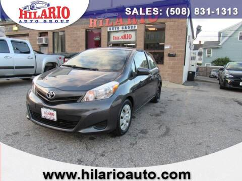 2013 Toyota Yaris for sale at Hilario's Auto Sales in Worcester MA
