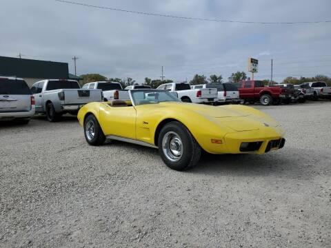 1975 Chevrolet Corvette for sale at Frieling Auto Sales in Manhattan KS