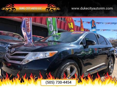 2014 Toyota Venza for sale at Duke City Auto LLC in Gallup NM