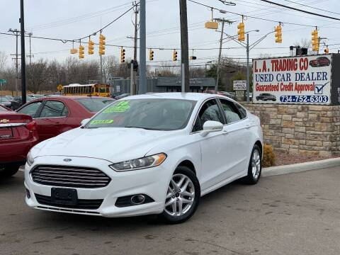 2016 Ford Fusion for sale at L.A. Trading Co. Woodhaven - L.A. Trading Co. Detroit in Detroit MI