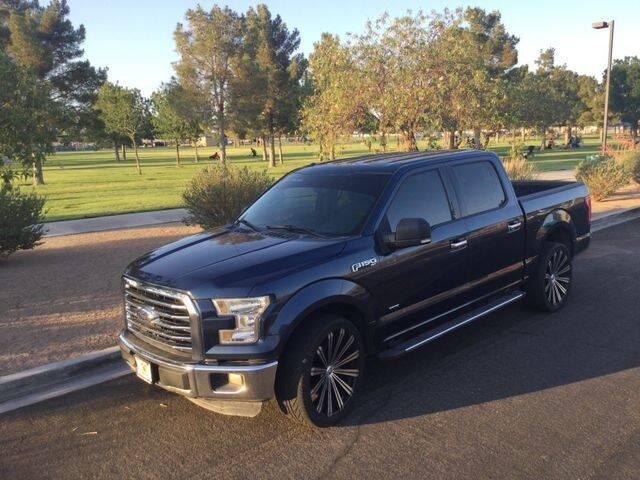 2016 Ford F-150 for sale at Del Sol Auto Sales in Las Vegas NV