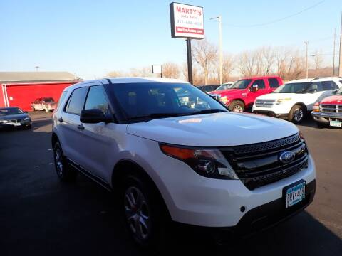 2014 Ford Explorer for sale at Marty's Auto Sales in Savage MN