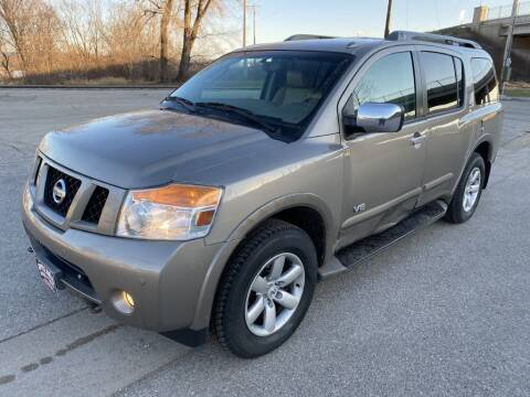 2009 Nissan Armada for sale at Apple Auto in La Crescent MN