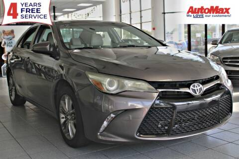 2015 Toyota Camry for sale at Auto Max in Hollywood FL