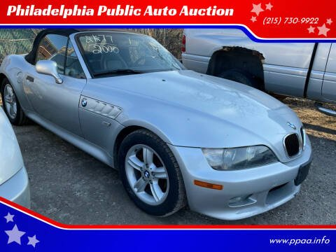 2000 BMW Z3 for sale at Philadelphia Public Auto Auction in Philadelphia PA