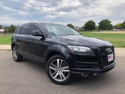 2015 Audi Q7 for sale at Nations Auto in Lakewood CO