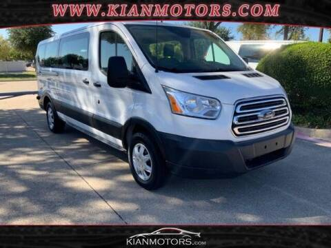 2019 Ford Transit Passenger for sale at KIAN MOTORS INC in Plano TX