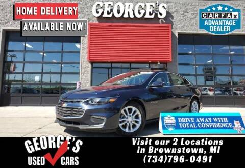 2018 Chevrolet Malibu for sale at George's Used Cars - Pennsylvania & Allen in Brownstown MI