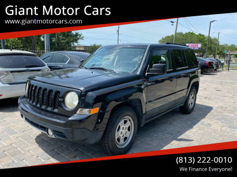 2011 Jeep Patriot for sale at Giant Motor Cars in Tampa FL