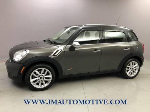 2012 MINI Cooper Countryman for sale at J & M Automotive in Naugatuck CT