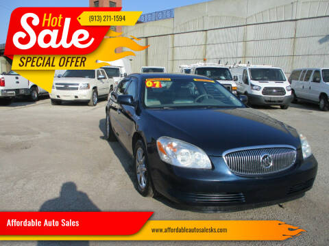 2007 Buick Lucerne for sale at Affordable Auto Sales in Olathe KS