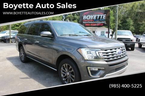 2020 Ford Expedition MAX for sale at Auto Group South - Boyette Auto Sales in Covington LA