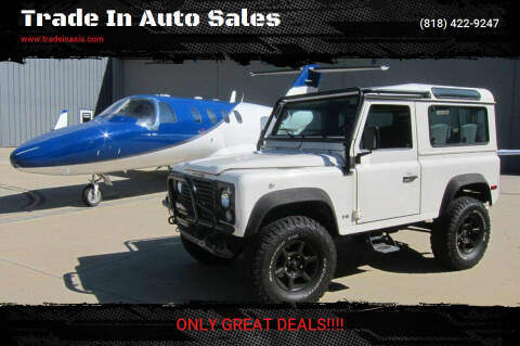 1997 Land Rover Defender for sale at Trade In Auto Sales in Van Nuys CA