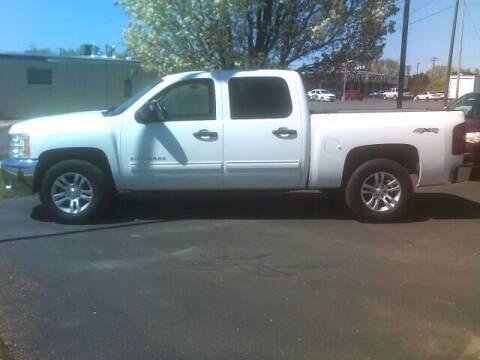 2012 Chevrolet Silverado 1500 for sale at University Auto Sales Inc in Pocatello ID
